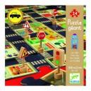 Djeco Didaktické puzzle Mesto, 24 dielikov