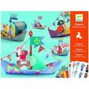 Djeco Origami - Loďky do vody