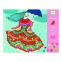 Djeco Penová mozaika - Párty šaty