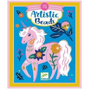 Djeco Artistic Beads - Kvety a zvieratá