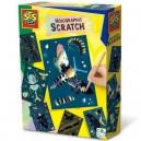 Ses Creative Holografické vyškrabávacie obrázky Hmyzia ríša, 6 ks
