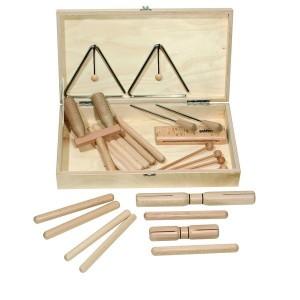 Set rytmických nástrojov, 25 dielov