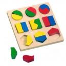 Geometrické tvary - puzzle