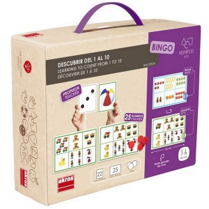 Bingo - Počítame od 1 do 10