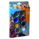 Clowny Aqua Basic - 8 farieb