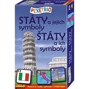 Pexetrio - Štáty a ich symboly
