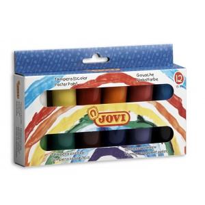 Temperové farby školské, 12x15 ml, v kelímku
