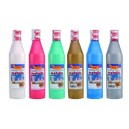 Temperové farby metalické 500 ml, fľaša