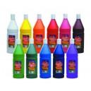 Temperové farby tekuté, 1000 ml, vo fľaši