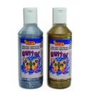 Temperové farby tekuté, 250 ml, vo fľaši glittrová