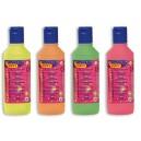 Temperové farby tekuté, 250 ml, vo fľaši, fosforeskujúce