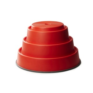 Podstavec červený, výška 24 cm