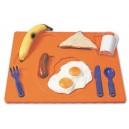 3D puzzle - raňajky