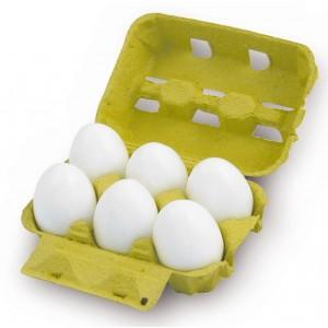 Vajcia, 6 ks