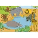 3 Puzzle - Zvieratá zo sveta