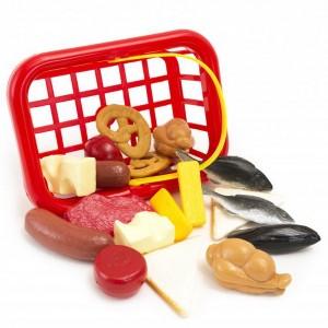 Košík Potraviny, 18 ks, malý