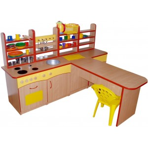 Kuchynka so stolíkom