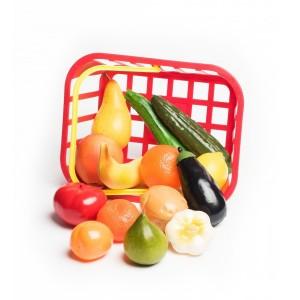 Košík Ovocie a zelenina, 14 ks