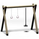 Hojdačka Gymnastické kruhy