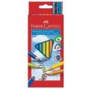 Faber Castell Pastelky Junior Grip, 10 ks