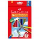 Faber Castell Pastelky Junior Grip, 30 ks