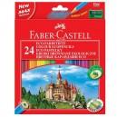 Faber Castell Pastelky farebné, 24 ks