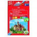 Faber Castell Pastelky Castell, 36 ks