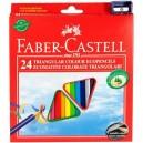 Faber Castell Pastelky ECO, 24 ks
