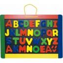 Magnetická tabuľa s písmenami