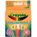 Mini pastelky Crayola, 12ks
