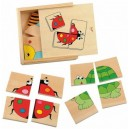 Minipuzzle Lienka