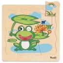 Woody Puzzle Vývoj žabky