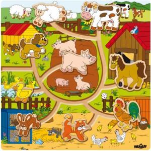 Posuvné zvieratká, 10 ks