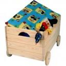 Box na hračky na kolieskach