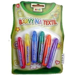 Fixky na textil základné 6x7ml