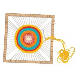 Tkáčske krosná kruhové