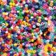 Korálky farebné, 1000 ks