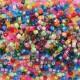 Korálky kockové, 1000 ks