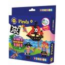 Zažehlovacie korálky Piráti, 2000 ks