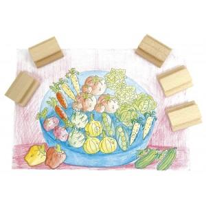 Pečiatky Zelenina