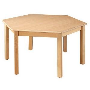 Stôl šesťhranný, 120 cm