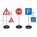 Dopravné značky, sada 3 ks
