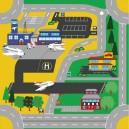 Hrací koberec Letisko, 1 ks