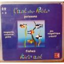 Magnetická skladačka Rybičky 3+, 48 ks