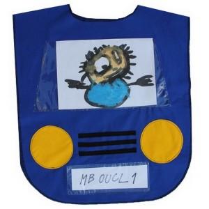 Vestička autíčko - modré