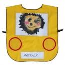 Vestička autíčko - žlté