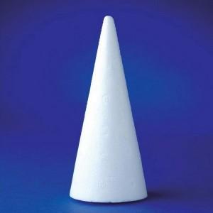 Polystyrénové kužele, 15 cm, 25 ks