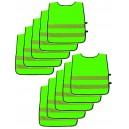Reflexná sada zelená, pre 10 detí