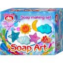 Výroba mydla - kvetiny