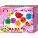 Výroba mydla - smajlíky